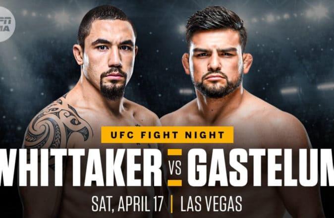 UFC Robert Whittaker Kelvin Gastelum Paulo Costa