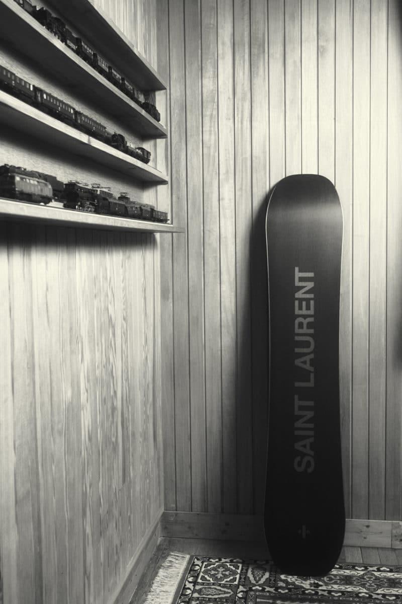 Saint Laurent Rive Droite Winter Game Capsule Ski Snowboard Sled Luge Basketball