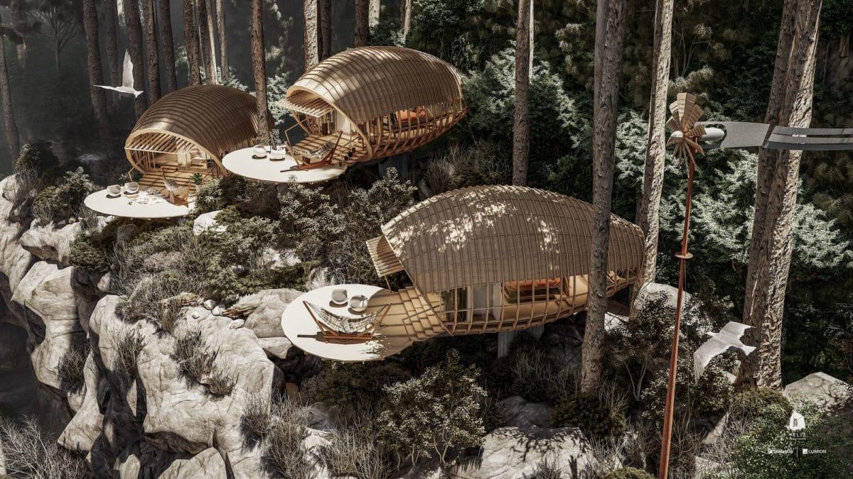 cabañas de montaña cubanas veliz arquitecto