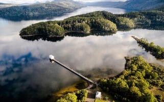 Pumphouse Point is one of the best hotels in Tasmania