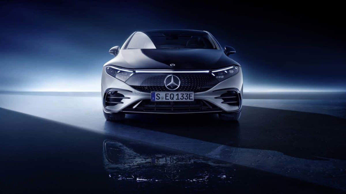 2022 Mercedes EQS All Electric Sedan