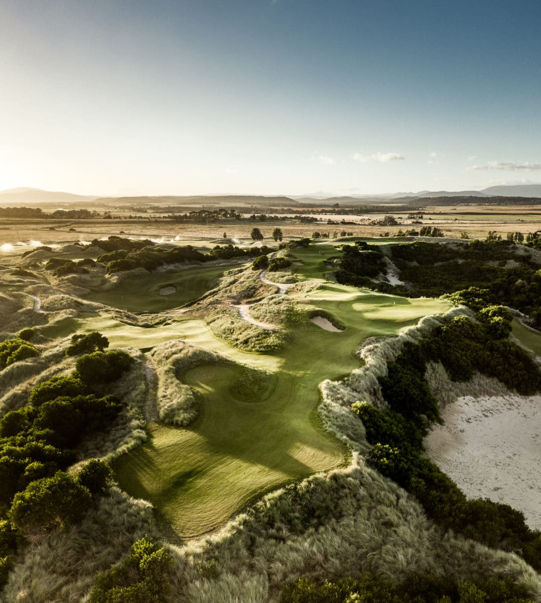 Bougle Run - Barnbougle Golf Course Tasmania