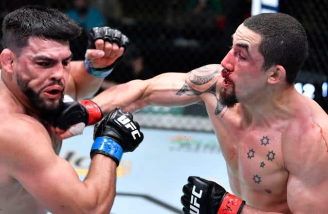 UFC Vegas 24: Robert Whittaker Masterclass Kelvin Gastelum