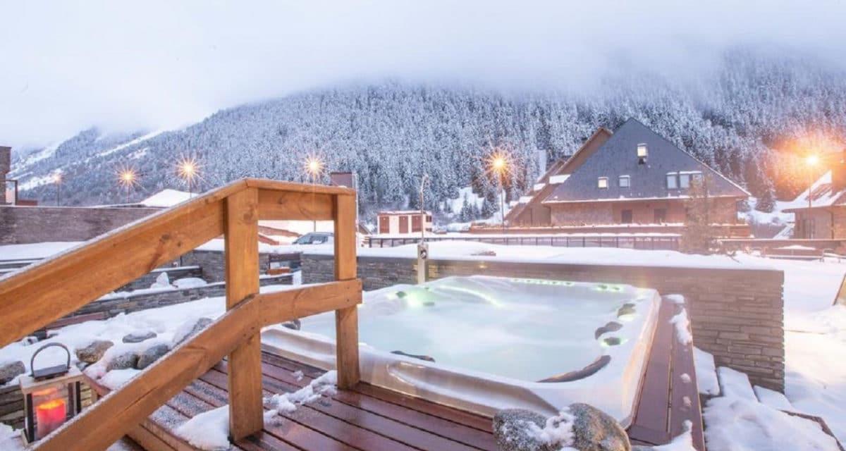 Lionel messi ski resort rooftop