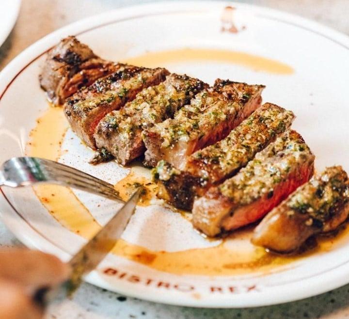 Steak frites at Bistro Rex, one of the best steak restaurants Sydney has to its name