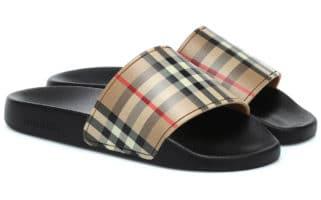 burberry slides