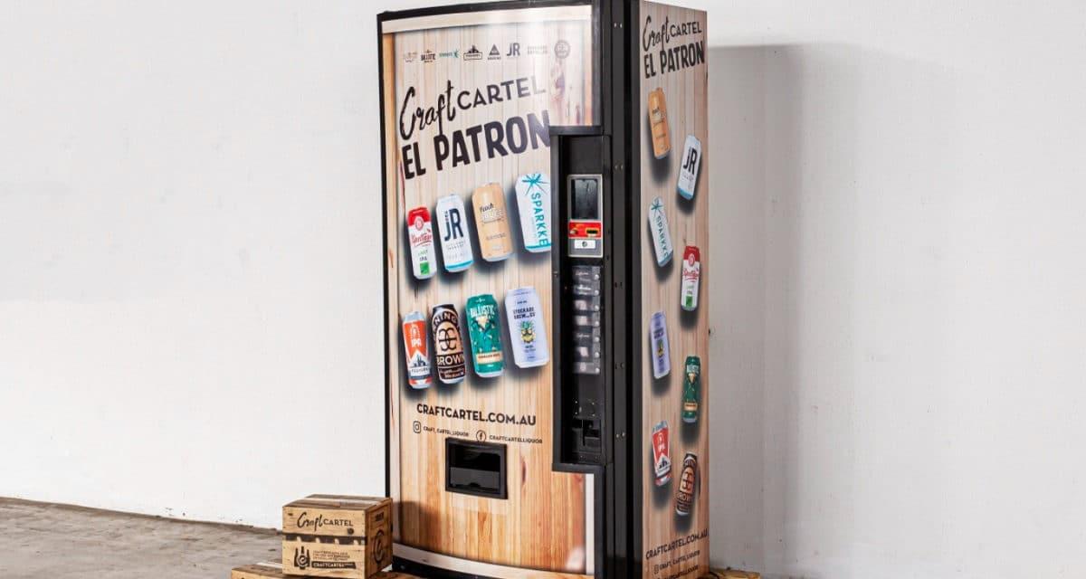 craft beer vending machine