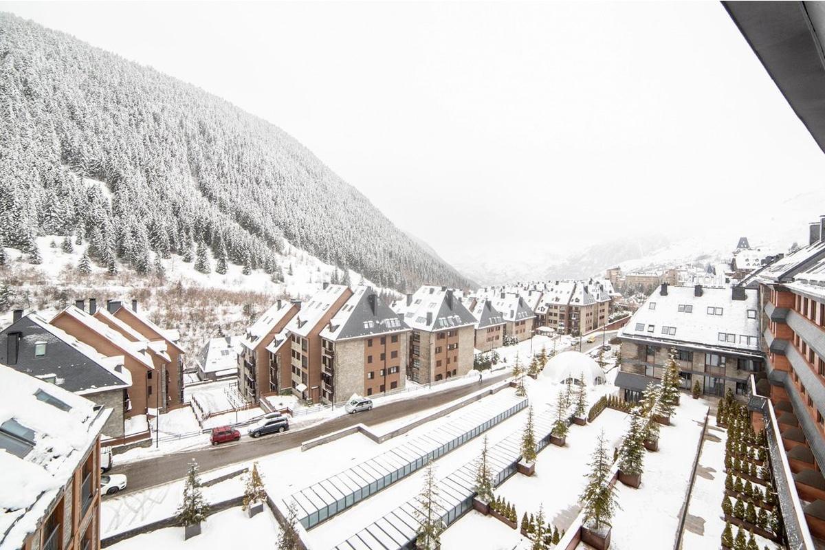 lionel messi ski resort view