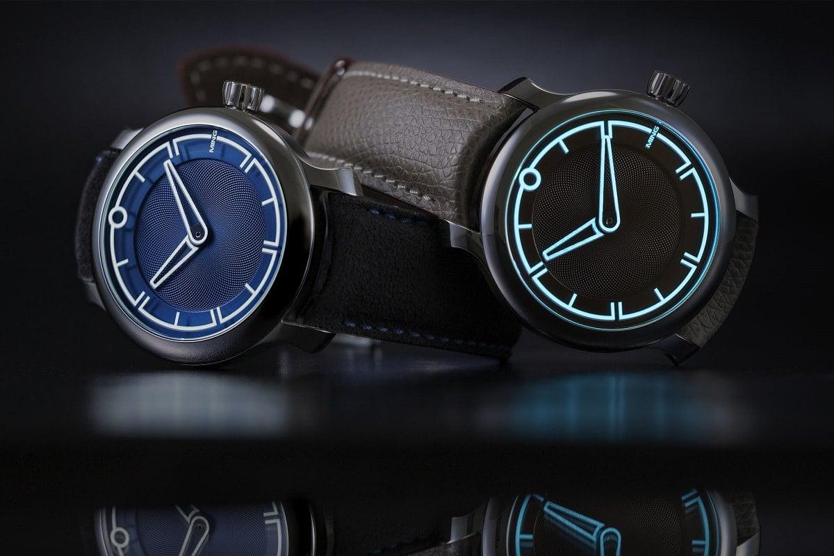 ming 17.09 watch blue