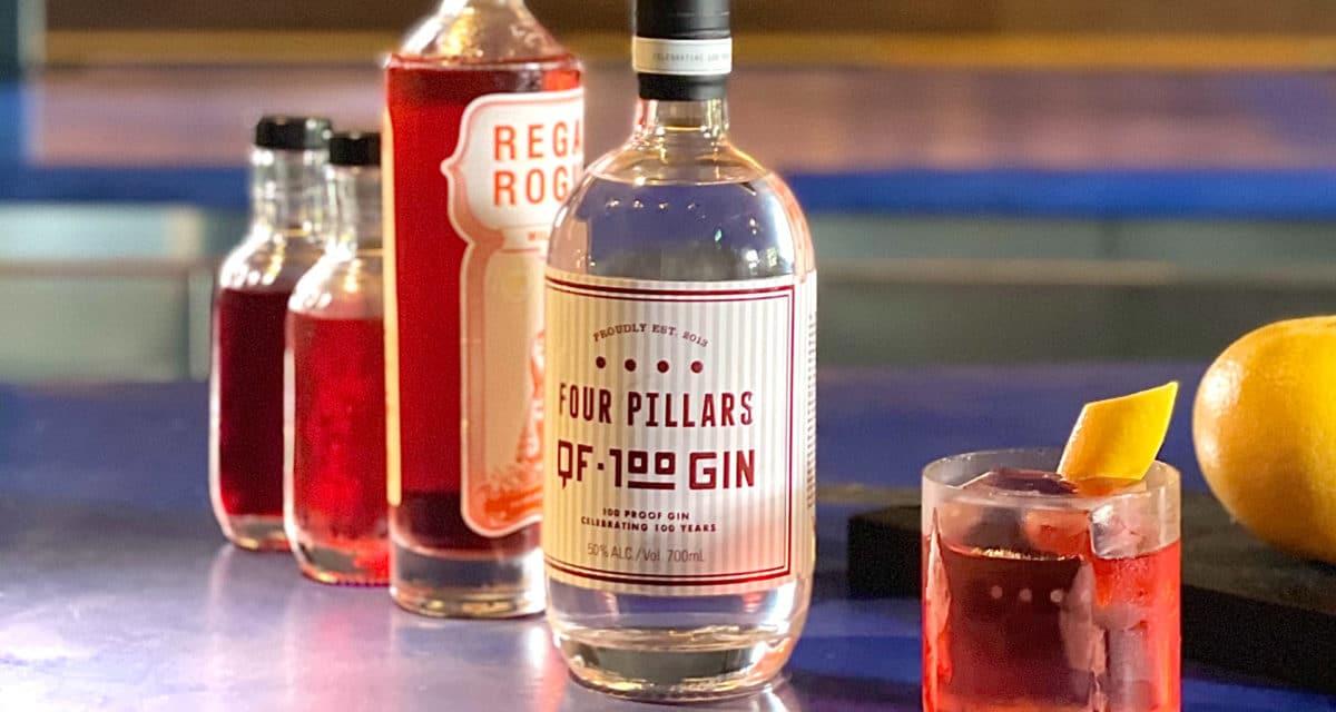 qf100 Four Pillars Qantas Gin