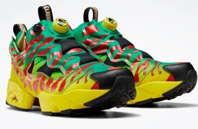 reebok jurassic park instapump fury sneakers