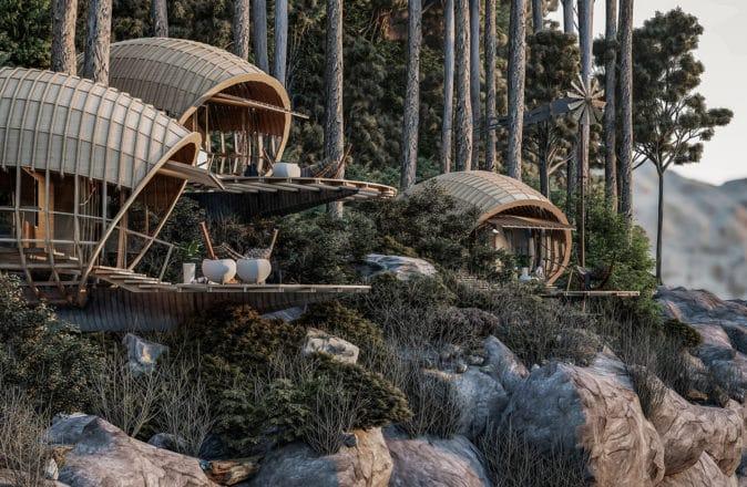 veliz arquitecto cuban mountain cabins