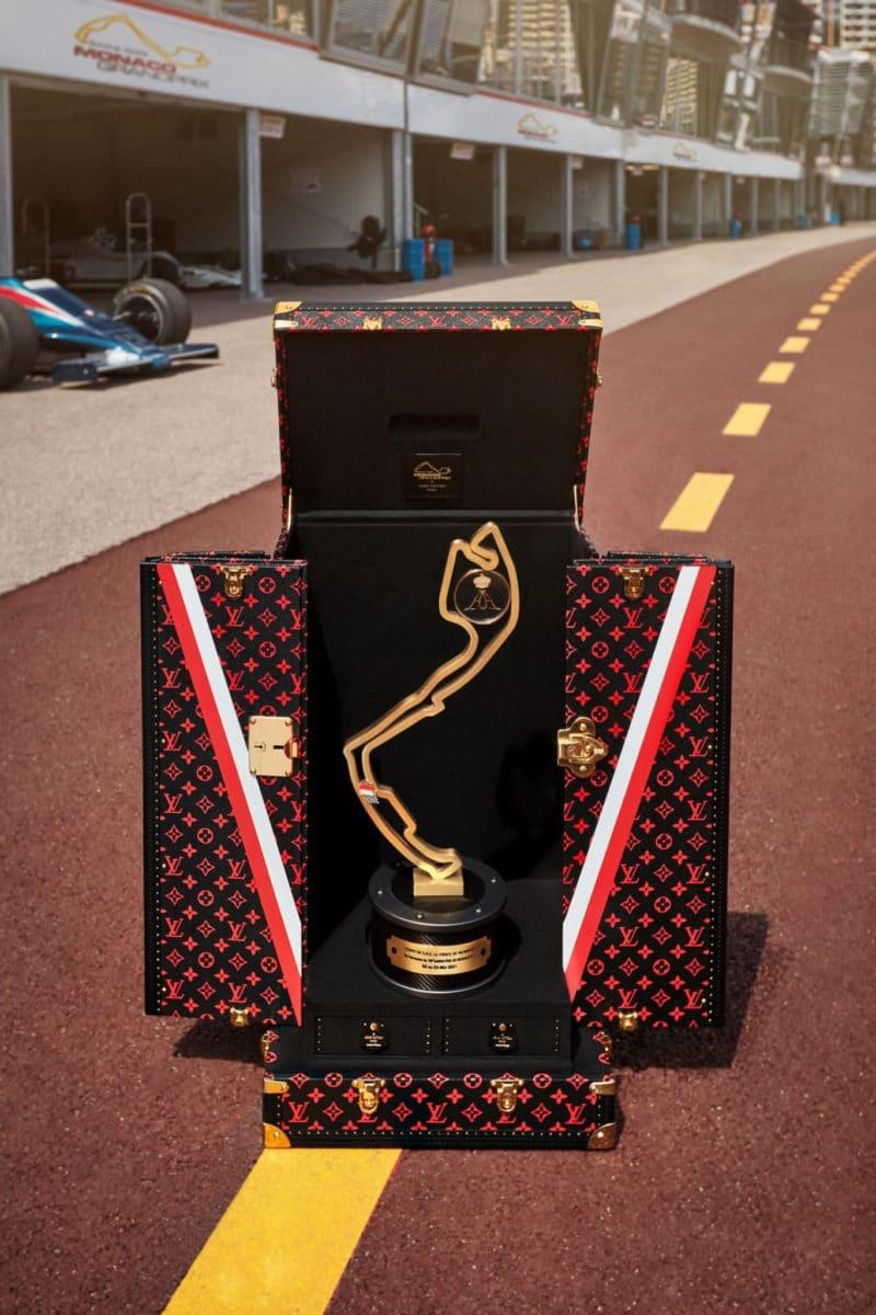Louis Vuitton Monaco Grand Prix Trophy Trunk Lewis Hamilton
