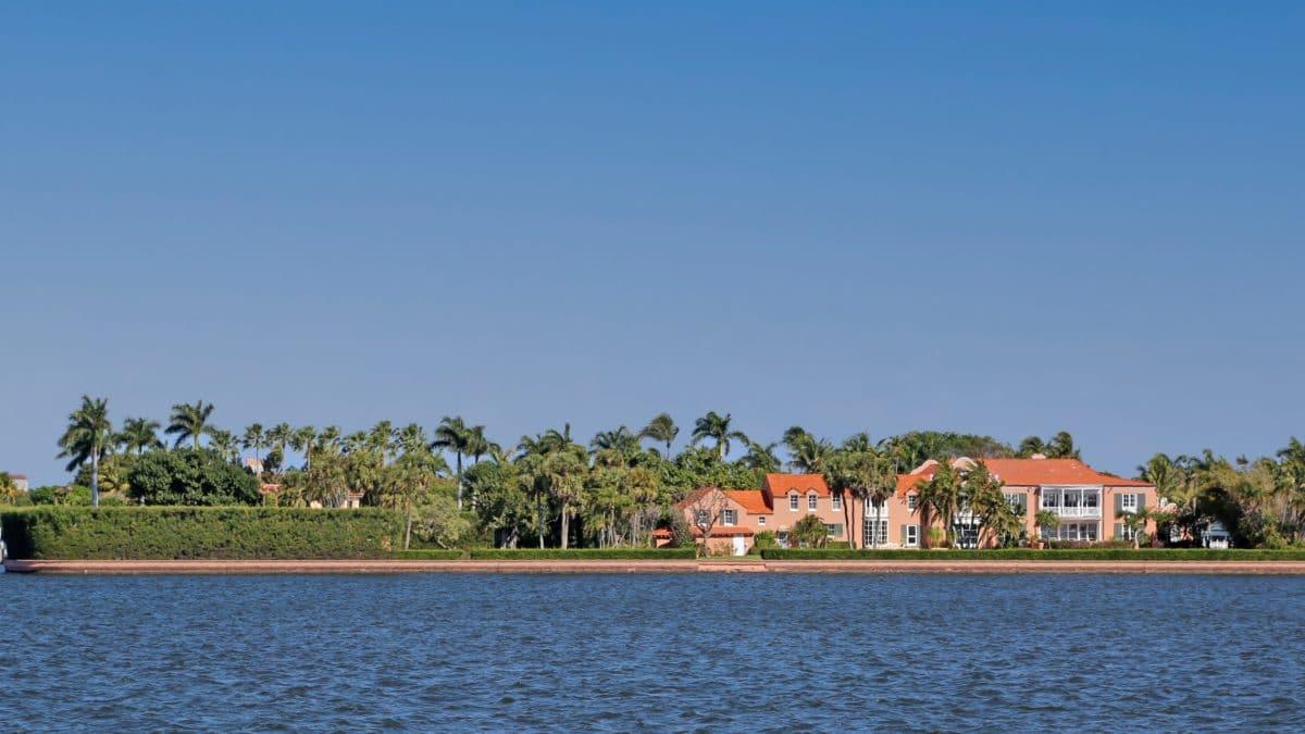 Tarpon Island Palm Beach Mansion