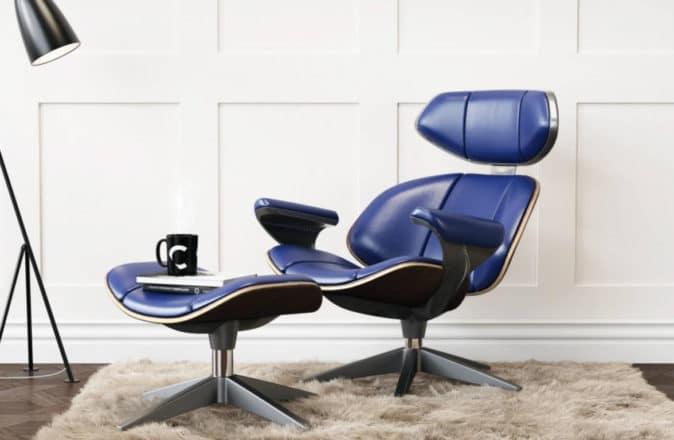 Aston Martin Vanquish Designer Ian Callum Eames Lounge Chair
