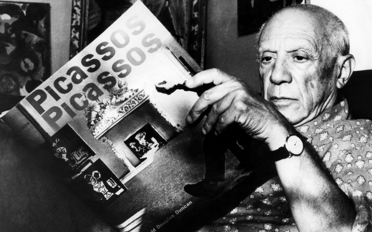 Pablo Picasso Watch Michael Z. Berger