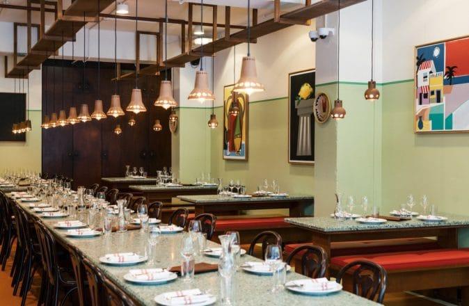 Bastardo Sydney dining room