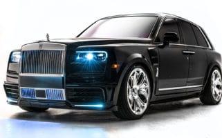 Drake Rolls Royce Cullinan Chrome Hearts