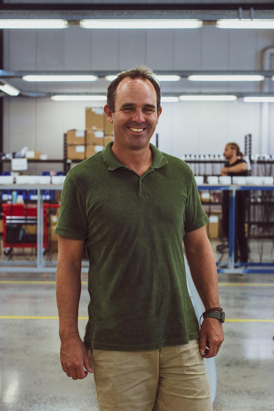 Fliteboard Founder David Trewern