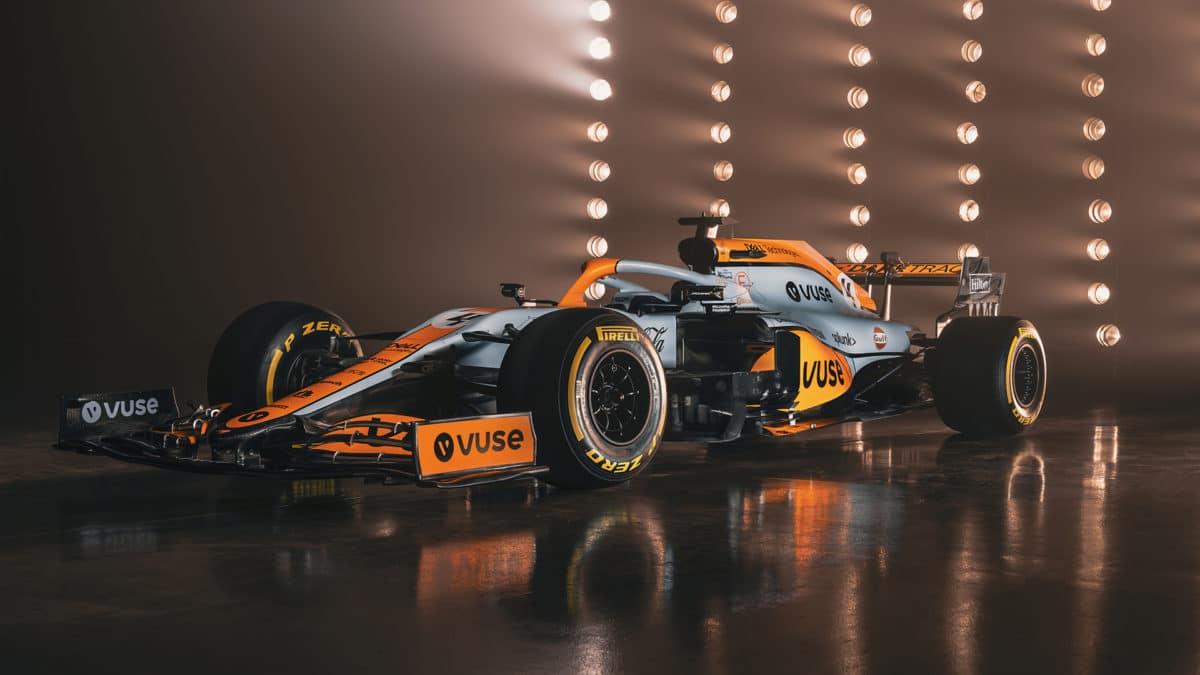 McLaren Racing Monaco Livery