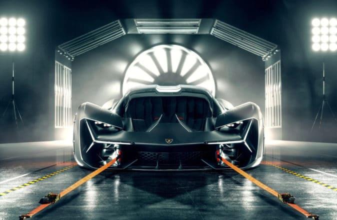 Lamborghini Electric Supercar 2025