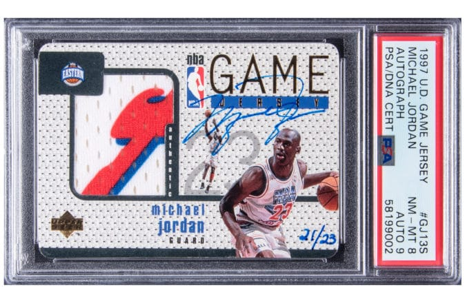 Michael Jordan NBA All-Star Card Expected To Sell For $3.2 Million