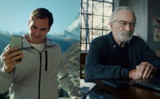 Roger Federer Robert De Niro 'Fuck You' Swiss Tourism Ad