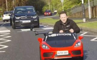 Car Throttle Test Drives World's First Road Legal Kids' Car
