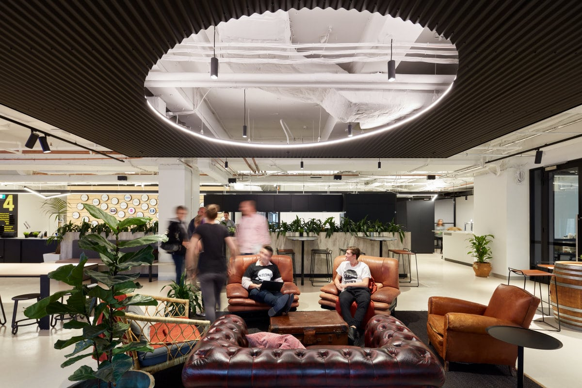 Stone & Chalk uses beautiful design to position itself as one of the best Sydney co-working spaces.