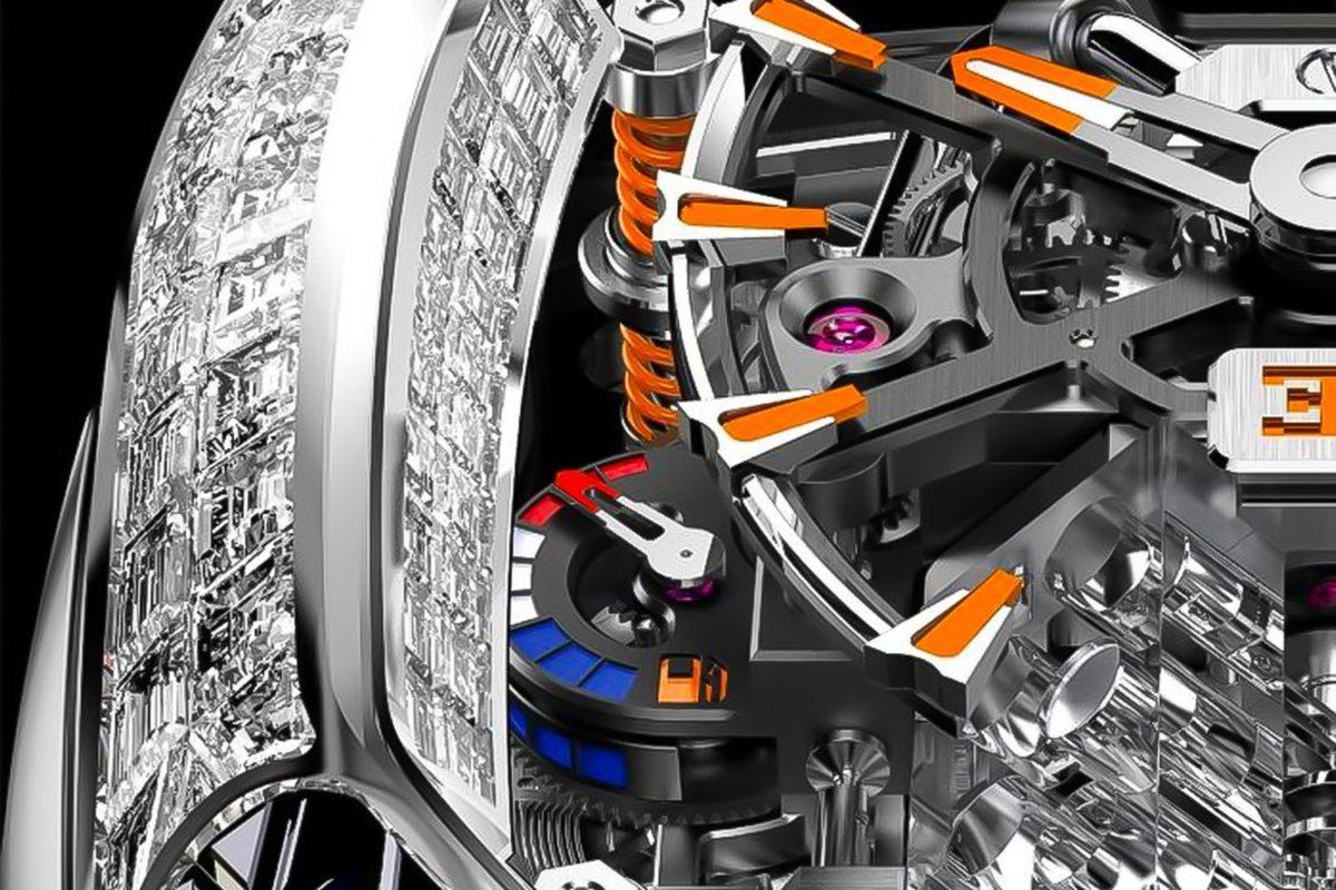 Jacob & Co.'s New Bugatti Chiron Tourbillon Is Even More Over-The-Top