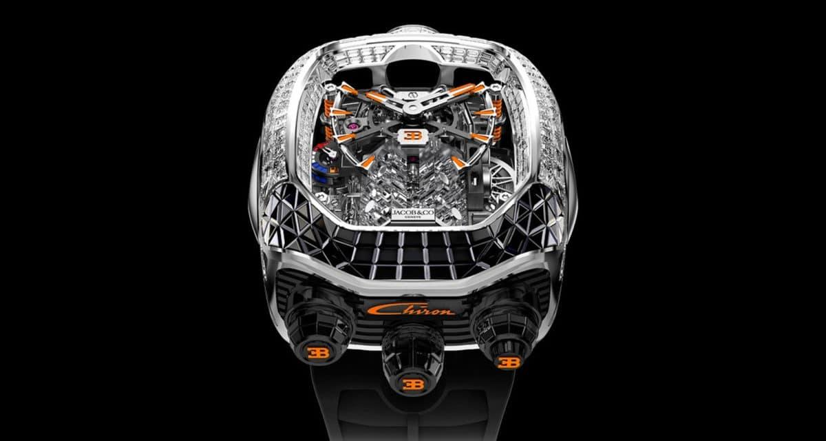 new jacob & co bugatti chiron 2021