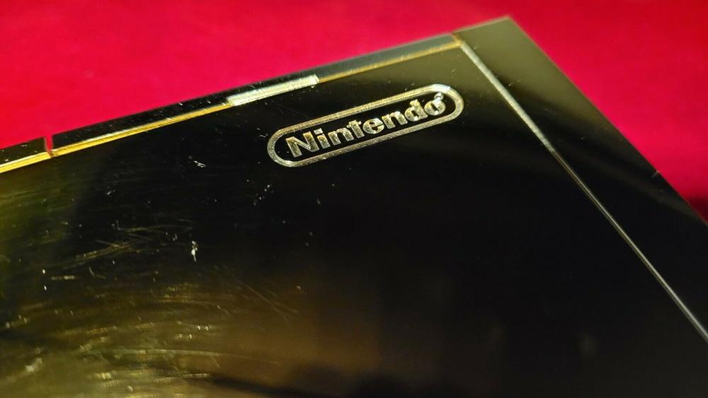 Queen Elizabeth Nintendo Wii close up