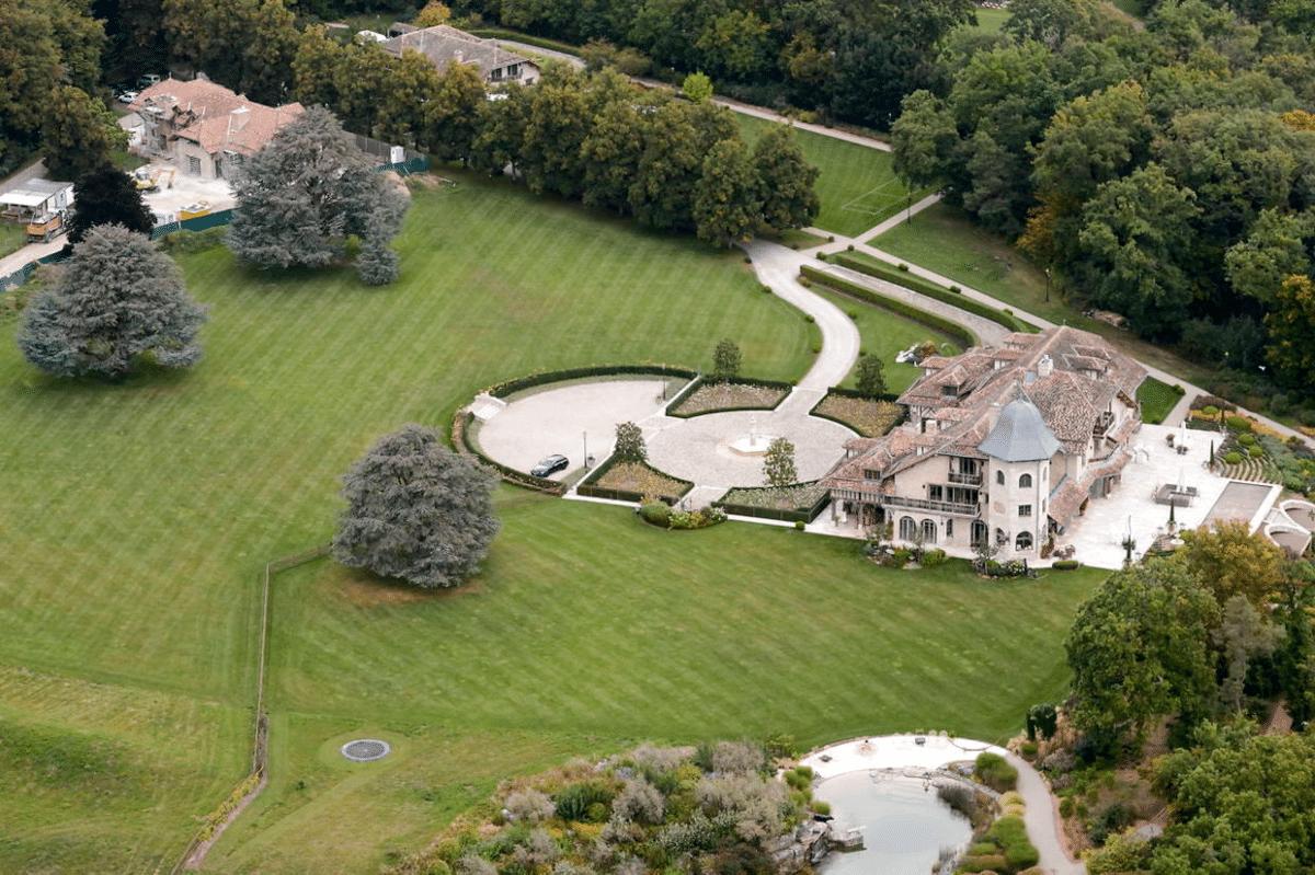 Sur Le Moulin Michael Schumacher mansion Lake Geneva, Switzerland