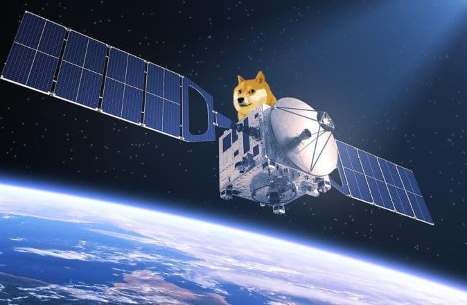 doge-1 spacex elon musk dogecoin satellite