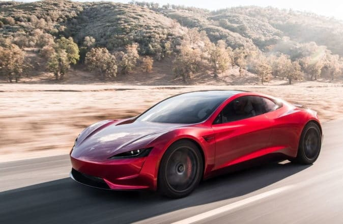 Elon Musk claims Tesla Roadster can do 0-60 in 1.1 seconds