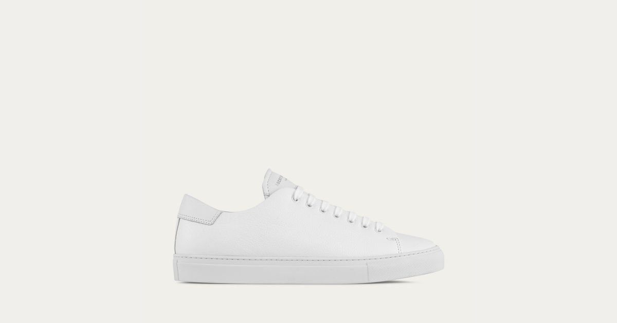 Ascot x Charlie make some of the best white sneakers out.