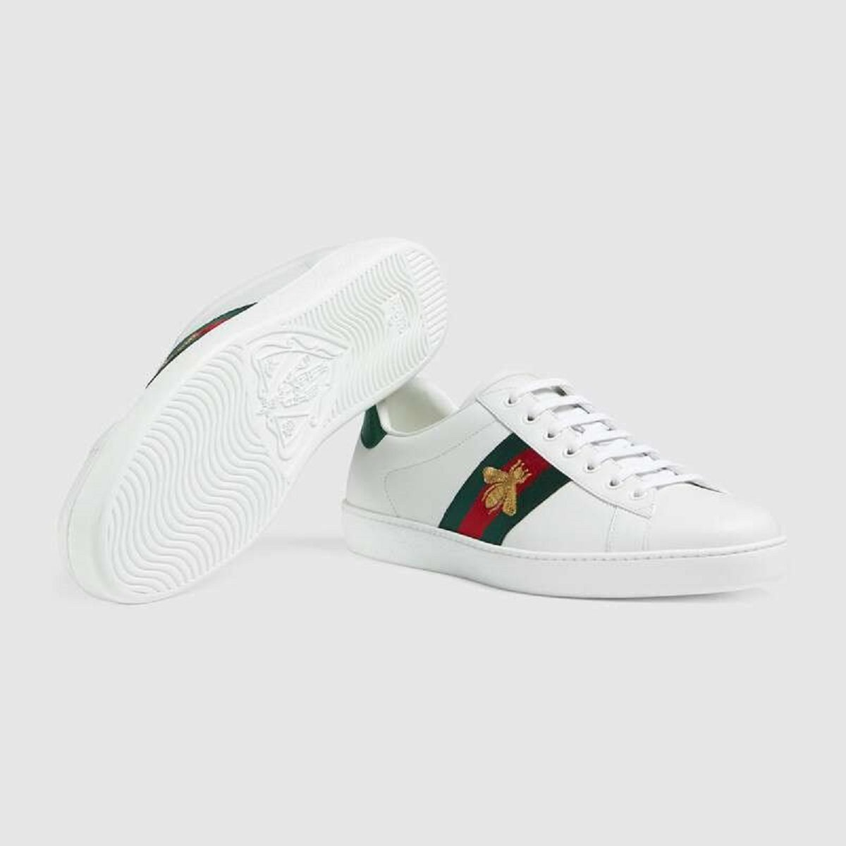 If you're looking for more than just the best white sneakers, but a bit of drama too, look to Gucci.