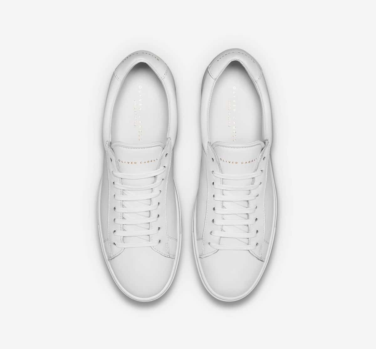 Oliver Cabell Low 1 are some of the finest pair of white sneakers you could own.