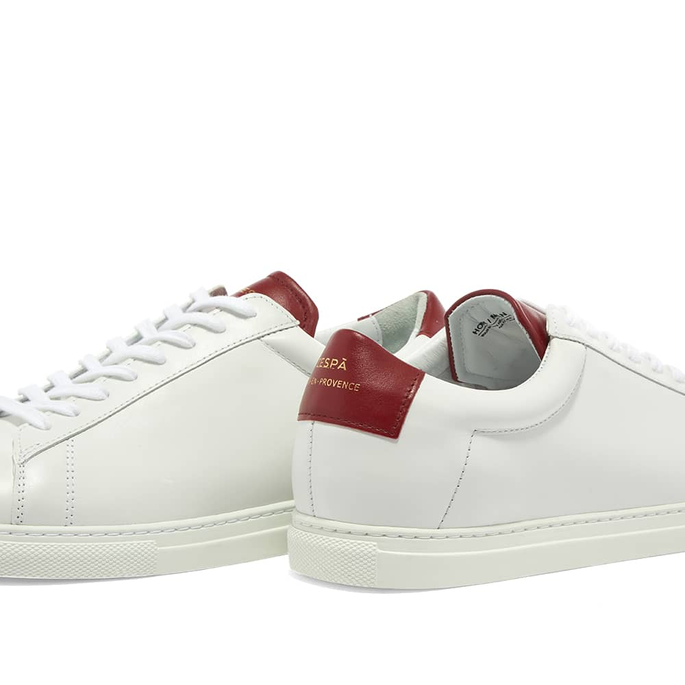 French brand Zespa present the ZSP4 in Alpa Nappa White, sprucing up the everyday white sneaker with pure elegance.