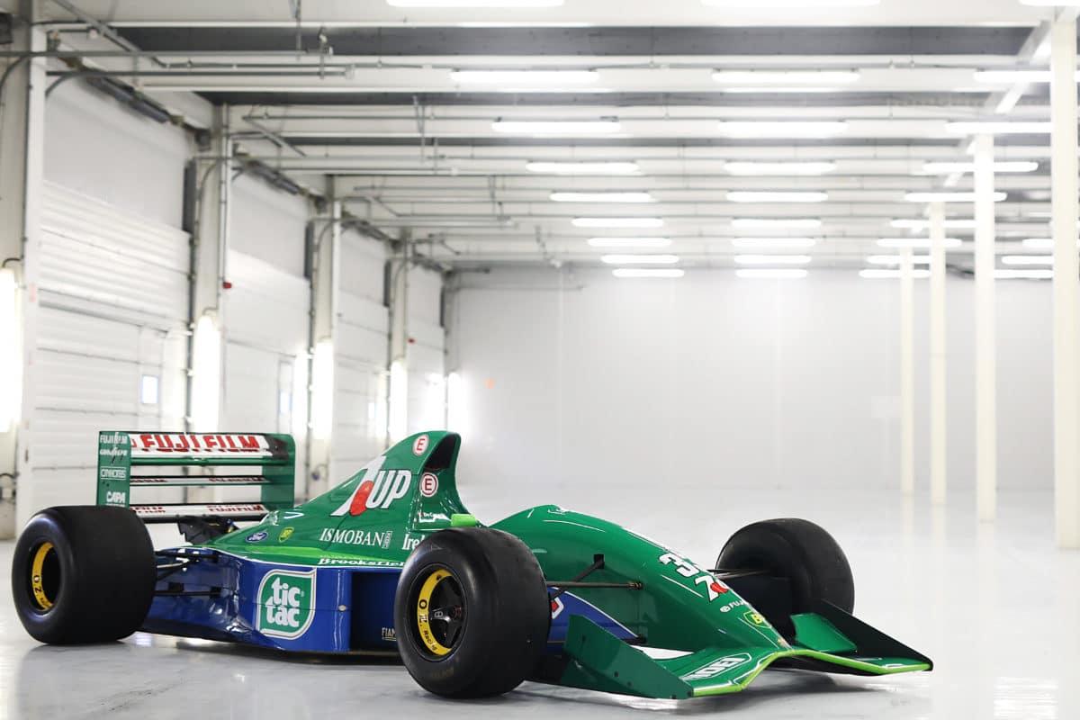 Michael Schumacher First F1 Car - Jordan 191 Ford Cosworth HB