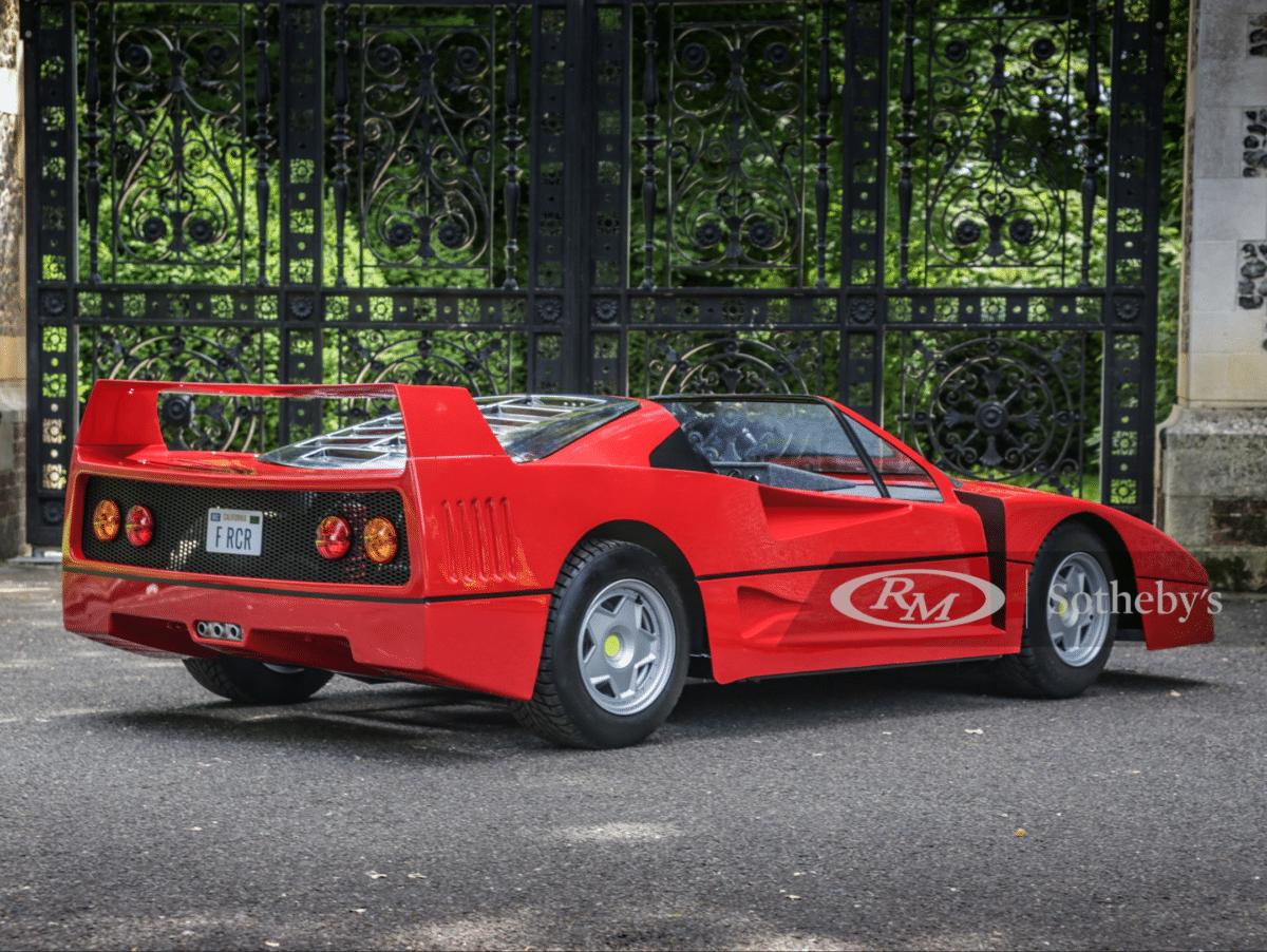 Sotheby's Ferrari Kid's Car - F-Racer Children's Car