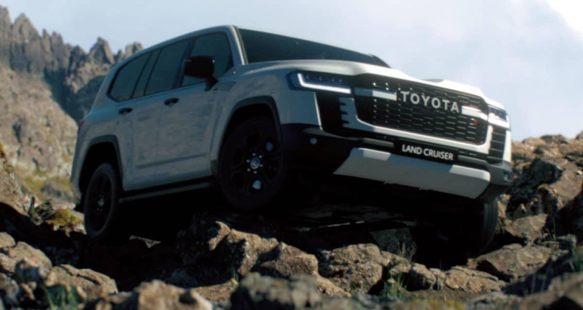 2022 Toyota Land Cruiser 300 Series