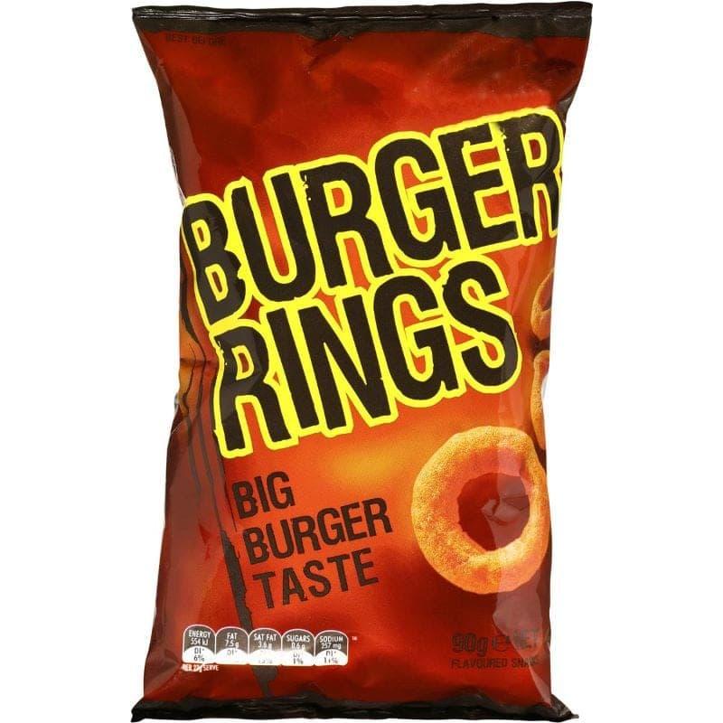 90s snacks australia - burger rings