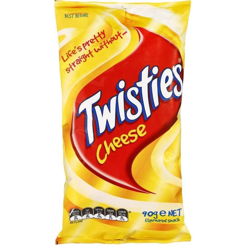 90s snacks australia - twisties