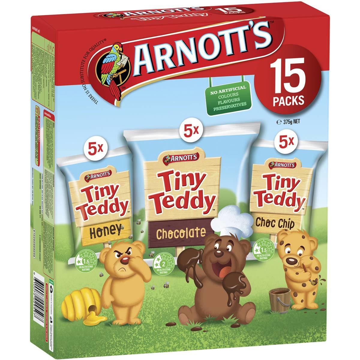 90s snacks australia - tiny teddies