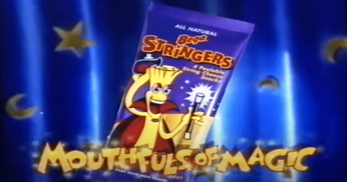 90s snacks australia - bega scheese stringers