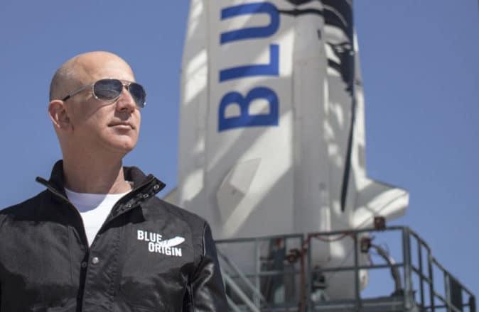 Jeff Bezos Space Blue Origin New Shepard