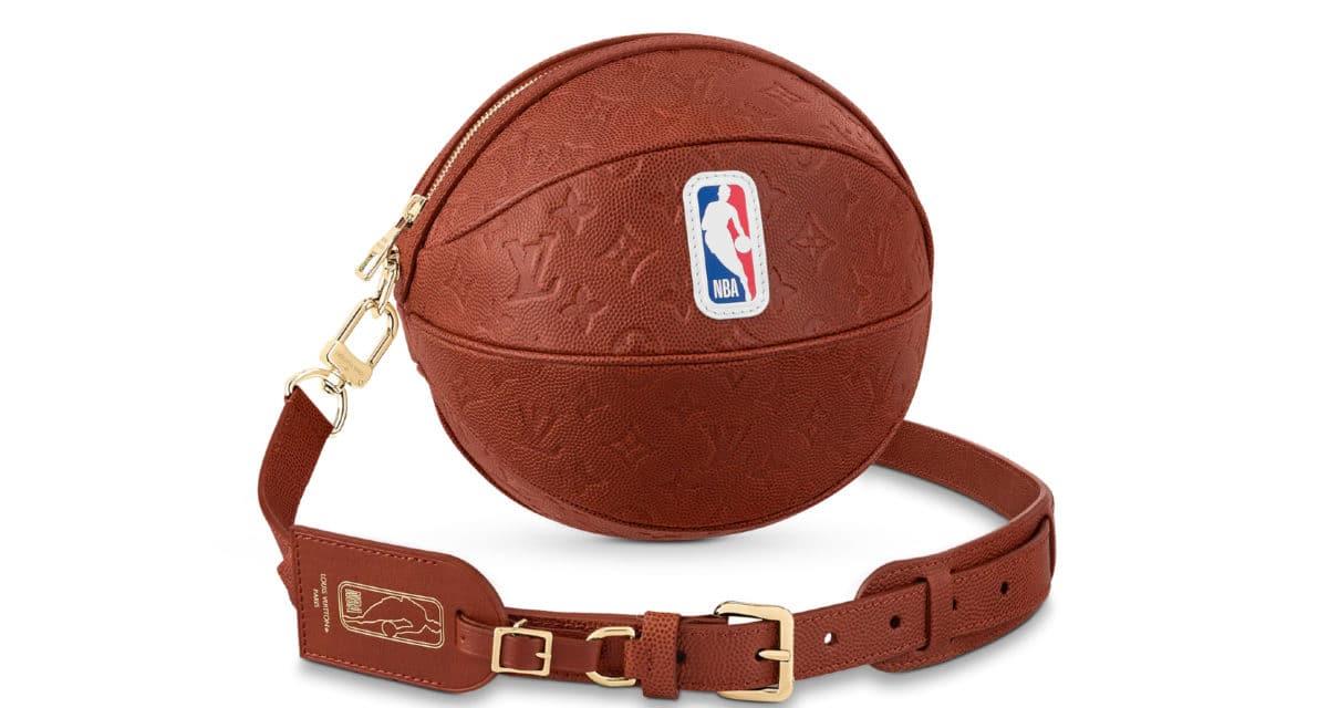 Louis Vuitton NBA Ball In Basket Bag