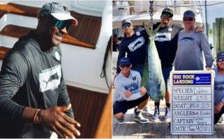 Michael Jordan Rock Blue Marlin fishing tournament Dolphin