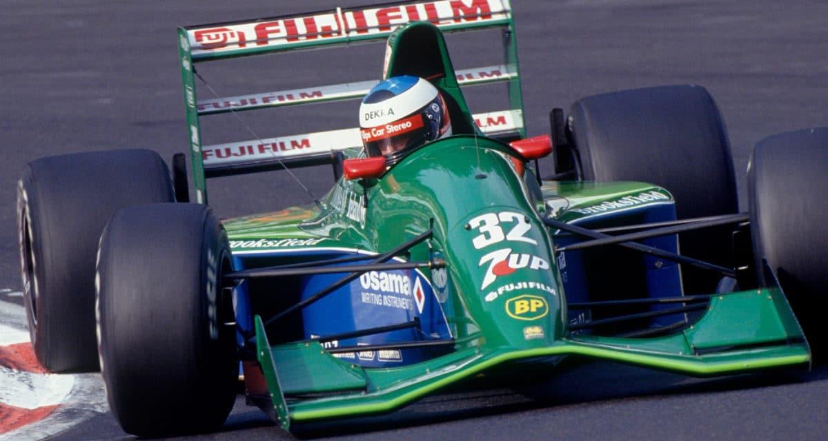 Michael Schumacher First F1 Racecar